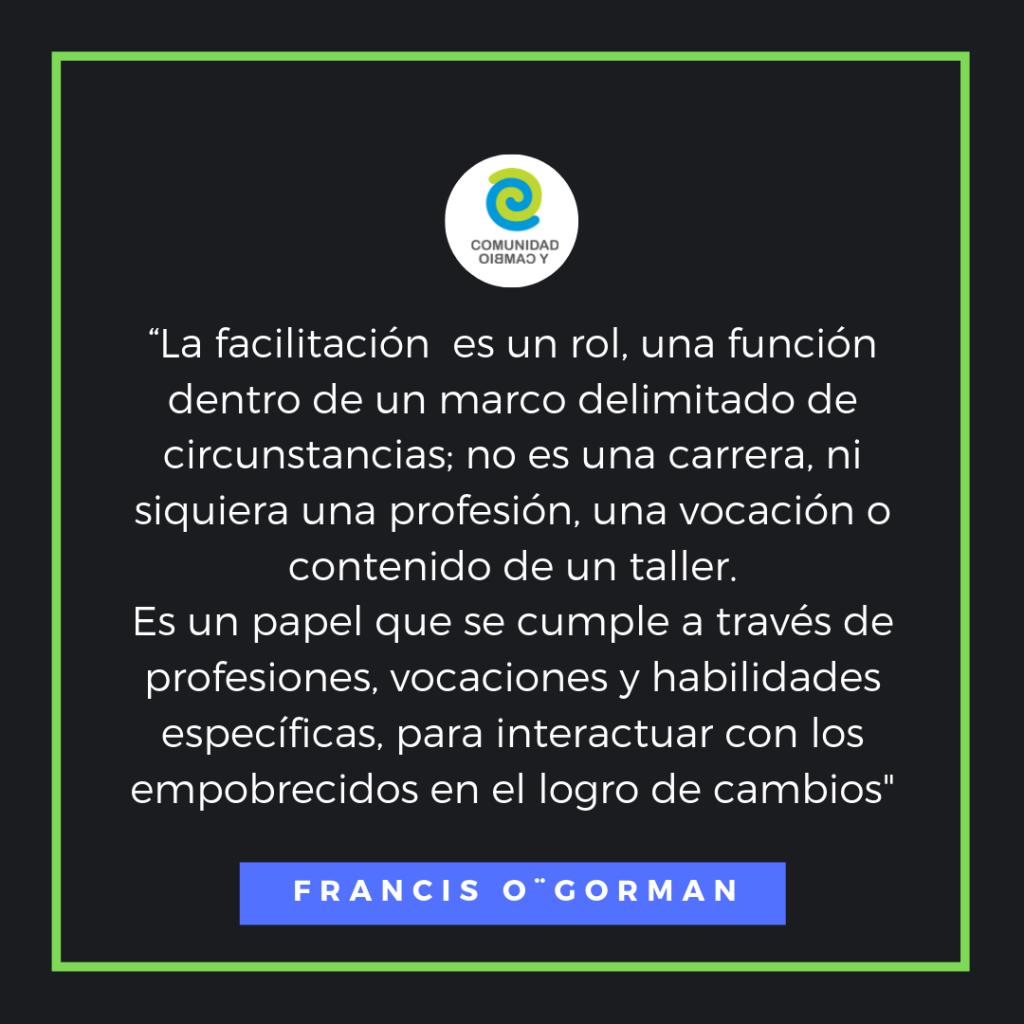 facilitacion Francis O G